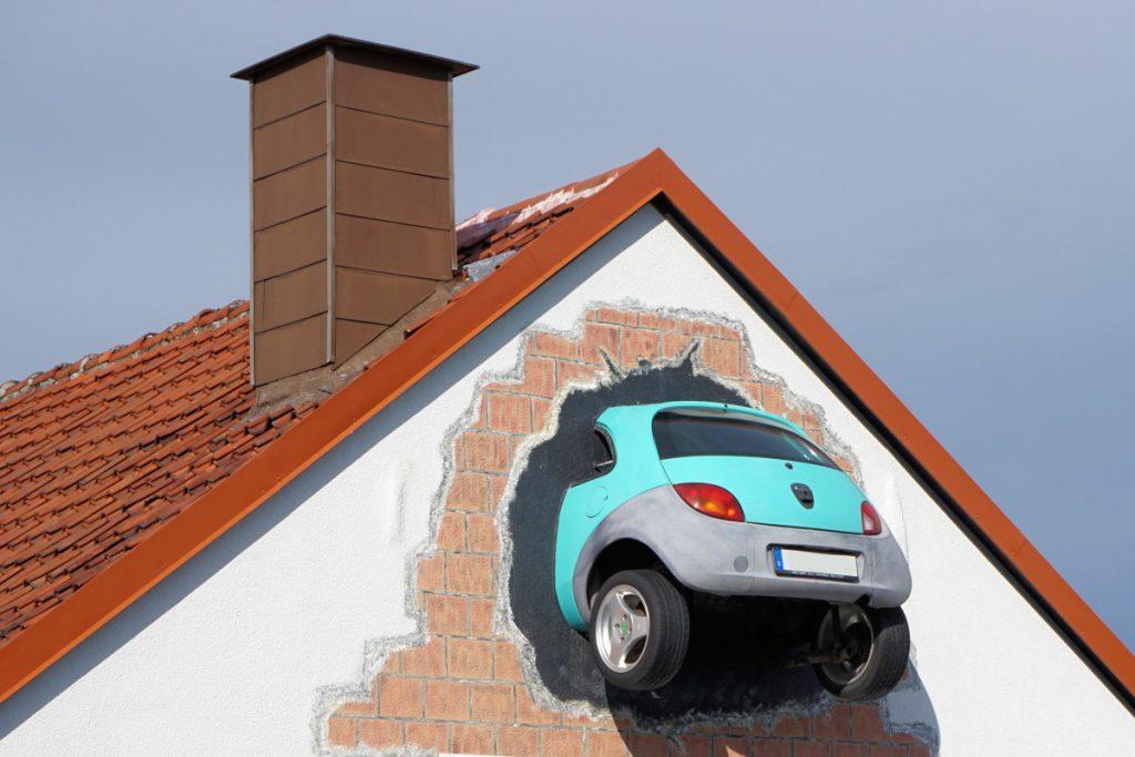 auto schade veroorzaken