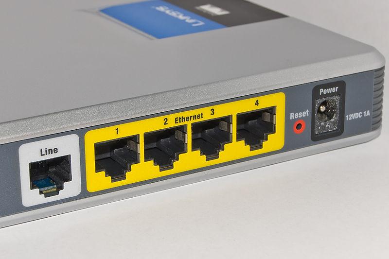 ADSL verbinding
