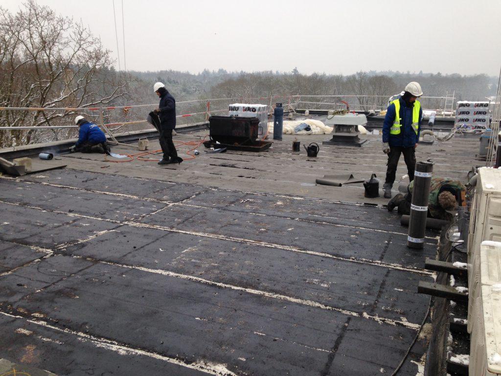 Bespreek de mogelijkheden met een dakbedekker
