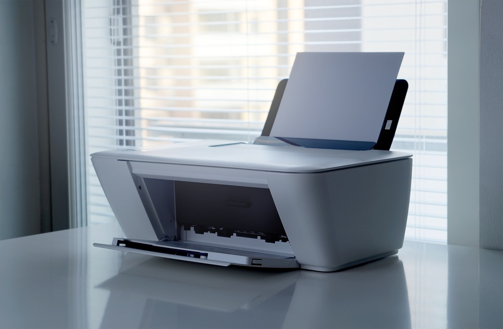 Hoe verwerk je een all-in-one printer in het interieur?