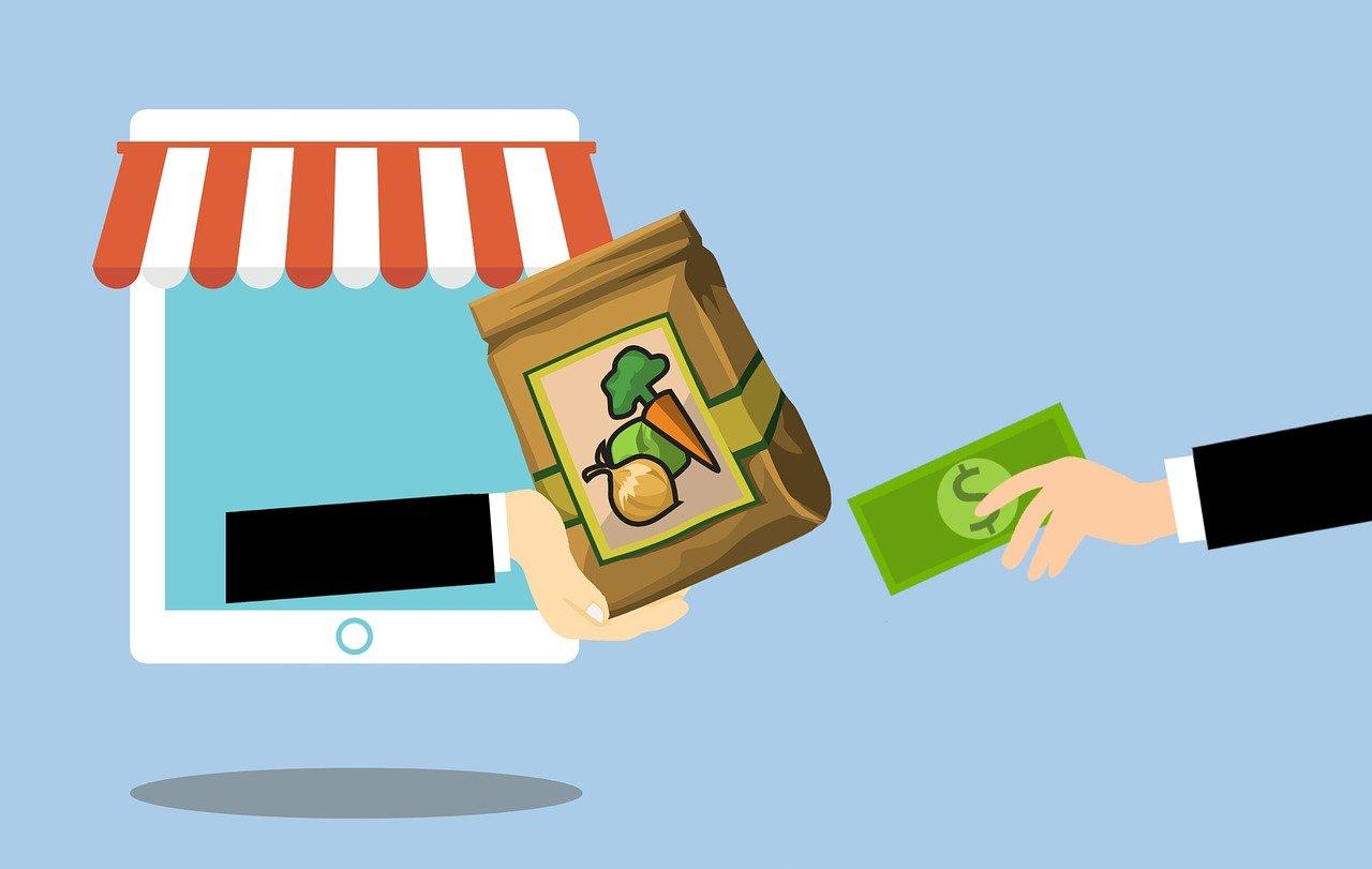 Boodschappen kopen op internet