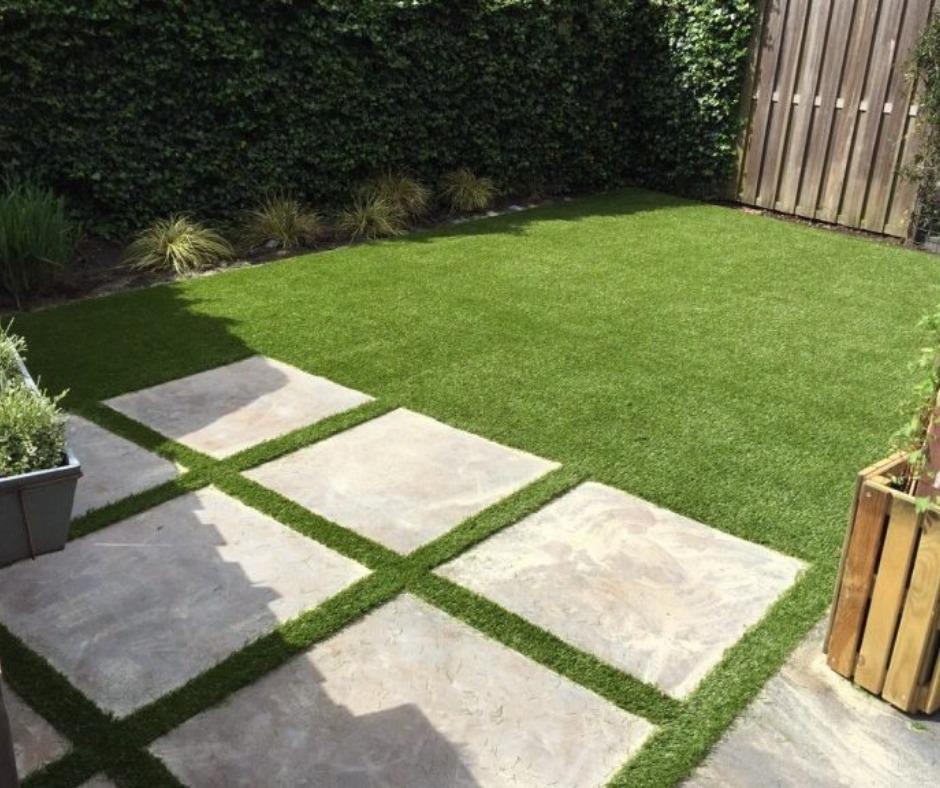 kunstgras in de tuin (1)